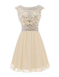 Wedtrend Women's Short Prom Dress with Beads Chiffon Cocktail Dress Birthday Gown 10145Champagne2 Wedtrend http://www.amazon.com/dp/B014OW5EPU/ref=cm_sw_r_pi_dp_JOCJwb0SYCTQZ