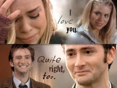 Doctor Who - Doomsday - Christmas Invasion - Ten and Rose