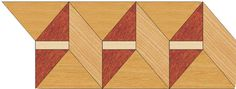 Wood Borders: B32. Check other inlays, wood and stone medallions, borders and parquet from Czar Floors.