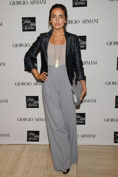 Camilla Belle Photo - Giorgio Armani Visits Saks Fifth Avenue With Camilla Belle