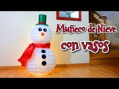 DIY MUÑECO DE NIEVE CON CALCETINES ♥ Qué cositas - YouTube