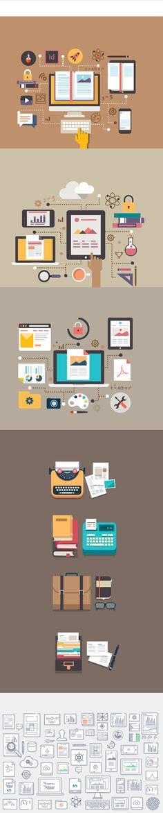 A project pitch for Adobe.com designed for the e-learning team, educating the end customers about the new offereings and services from the Reader SDK team. And icons developed for Ingeniux- Content management systme