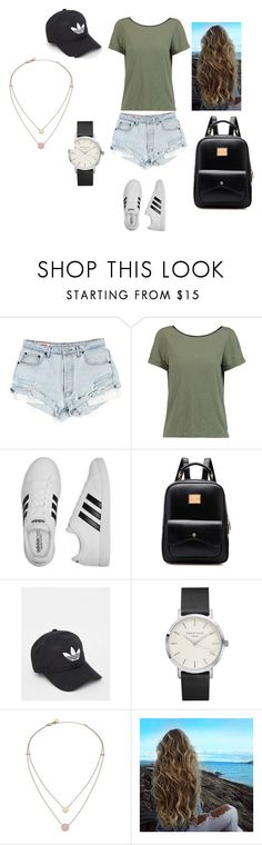"""""""Untitled #136"""" by taylorgf ❤ liked on Polyvore featuring Alice + Olivia, adidas and Michael Kors"""