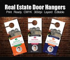 Real Estate Door Hanger Template tour travel door hanger template | door hangers, template and doors