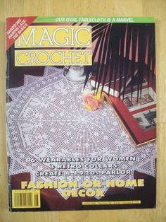Magic Crochet magazine June 1995 Number 96 by Noahslady4Patterns, $4.25