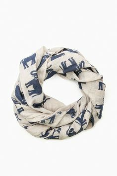 Elephant collection scarf #fashion #accessories