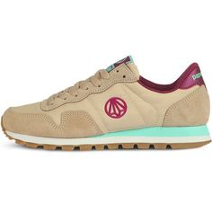 Casual Sneakers Vintage Leather Womens Fashion Bug Athletic Shoes  Beige www.fashionbug.us