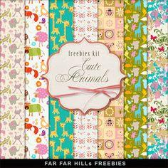 New Freebies Kit of Paper -