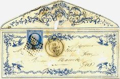 Vintage Envelope Art was Awesome | Messy Nessy Chic