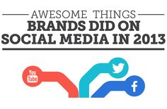Awesome Things That Brands Did On Social Media In 2013 [INFOGRAPHIC]