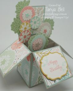 Stamping T! - Card in a Box SAB - Tanya Bell