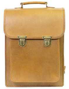 f800d20fcddc Special Tan Leather Backpack by Beara Beara Natural Leather