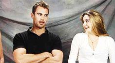Shailene Woodley Co-Star GIFs: Theo James, Sheo