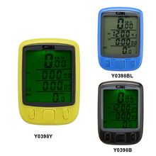 Bike Bicycle  Computer Odometer Multifunction Waterproof Speedometer LCD Backlight Backlit Have Fun From Good Cycling Equipment(China (Mainland))