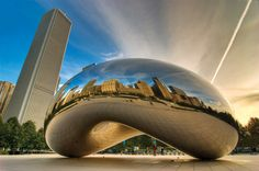 Cloud Gate, Chicago, IL