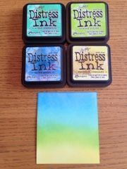 Creative Love Affair | OCC Background Check Class - Ink Blending with Distress Inks #Background