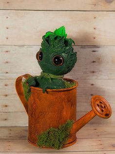Young Cabbage  art doll designer toy by Furrykami on Etsy