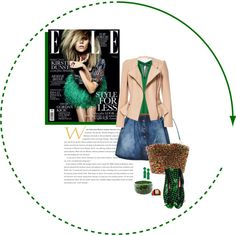 """green with envy"" by ian-giw on Polyvore"