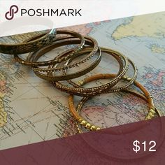 Gypsy Costume Jewelry Bracelets Costume Jewelry. 9 bracelets total Lucky Brand Jewelry Bracelets