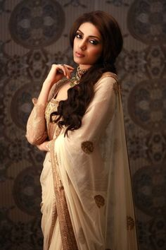 """beautifulsouthasianbrides: """" Miss Earth Sobhita Dhulipala in Ritu Kumar """""""