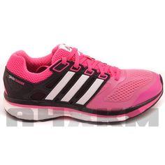Zapatillas running Supernova Glide Boost Adidas para mujer en colores rosa  y negro. Zapatillas rodadoras b0b7396d1d833