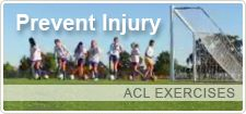 Introduction to ACL Exercises Young female athletes at highest risk for ACL injuries  Exercises for prevention