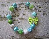 Seascape Chunky Bead Necklace