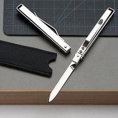 Gentleman's Hidden Knife. Mini switch blade. Very nice