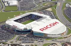 Ricoh Arena, Phoenix Way, Rowleys Green, Coventry, England Travel Pictures, Travel Photos, Ricoh Arena, English Football League, Coventry City, Event Management, Event Styling, Lonely Planet, Baseball Field