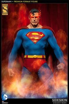 New Images: Superman Premium Format Figure By Sideshow Collectibles Superman Love, Superman Man Of Steel, Superman Artwork, Batman, Sideshow Toys, Sideshow Collectibles, Marvel Dc, Marvel Comics, Comics
