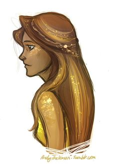 Piper, daughter of Aphrodite, not how I pictured her though