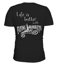 # Best WOZ   Life Is Better With Flying Monkeys back Shirt .  tee WOZ - Life Is Better With Flying Monkeys-back Original Design.tee shirt WOZ - Life Is Better With Flying Monkeys-back is back . HOW TO ORDER:1. Select the style and color you want:2. Click Reserve it now3. Select size and quantity4. Enter shipping and billing information5. Done! Simple as that!TIPS: Buy 2 or more to save shipping cost!This is printable if you purchase only one piece. so dont worry, you will get yours.