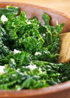 Massaged Kale Salad: You'll love this super food recipe! | via @SparkPeople
