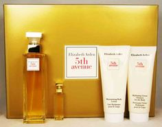 """ELIZABETH ARDEN 5TH AVENUE WOMENS' PERFUME 4PC SET @ $69.95 - GREAT VALUE AVAILABLE NOW AT """"BREATHTAKING"""" !!! http://stores.ebay.com.au/breathtakingstore"""