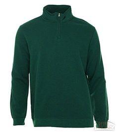 John Ashford Long Sleeve Solid Quarter-Zip Pullover
