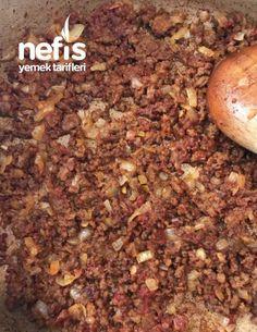 Kozalak Mantısı - Nefis Yemek Tarifleri - #6282853 Rind, Salsa, Beans, Cooking Recipes, Vegetables, Ground Meat, Turkish Recipes, Food Food, Chef Recipes