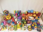 HUGE BABY DEVELOPMENTAL TOY #2 LOT 62 PCS TOYS RATTLES FISHER PRICE