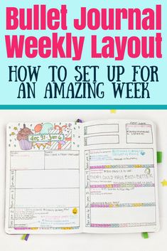The Best Bullet Journal Weekly Layout Setup Guide - Planning Mindfully Bullet Journal Contents, Bullet Journal Weekly Layout, Bullet Journal For Beginners, Bullet Journal Printables, Bullet Journal Hacks, Bullet Journal How To Start A, Journal Template, Bullet Journal Spread, Bullet Journals