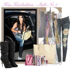 """Kim Kardashian : Style No.3"" by sally on Polyvore"