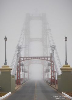 """""""Puente colgante"""" de Santa Fe, Argentina, via Flickr"""