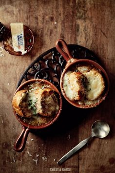 Zupa cebulowa { French Onion Soup }