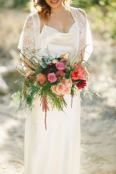 gorgeous fall bouquet