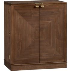 Maxine Bar Cabinet in Bar Cabinets | Crate and Barrel