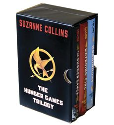 The Hunger Games trilogy - Great family book club read.