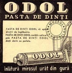 Odol toothpaste / vintage ads