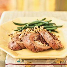 Fig and Blue Cheese-Stuffed Pork Tenderloin | CookingLight.com
