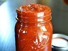 Can't wait to try this...Slow Cooker Marinara Sauce - The magical long, slow cooking process caramelizes the sugars in the tomatoes and creates a depth of flavor that can't be matched!