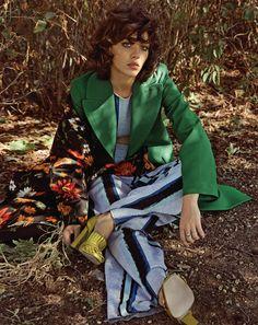 Photography: Hyea w. Kang Styled by: Ye Young Kim Makeup: Souhi Hair: Kenshin Asano Model: Steffy Argelich