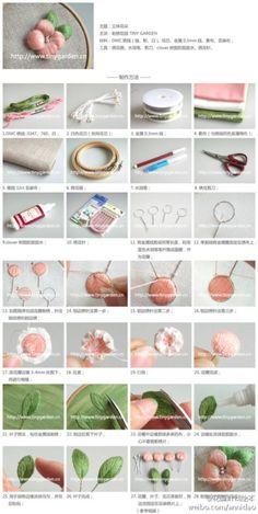 刺绣花园教……_来自花园針线绘本的图片分享-堆糖