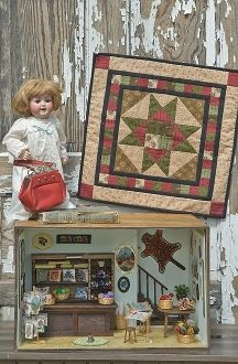 Prairie Star - Pattern in Little Quilts in the Coop Two by The Little Red Hen